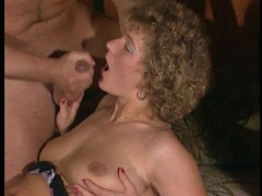 Retro clips from the 80's and they suck up the cum. (Clip)