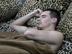 Pervet jeremiah johnson is eager to suck his own fat cock 10