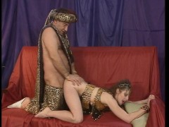 Ali Baba gets a hot pussy and ass to play with  (CLIP)