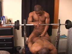 Working with weights makes cocks big and long