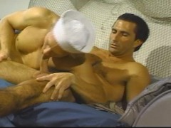 Sailor boy and Army man get it on