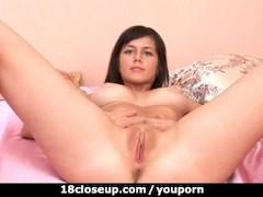 Young Flexible 18y Old Vagina Gym