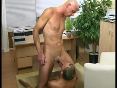 Gay old time at the office  pt 1/2