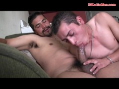 latin guys suck each other and fuck raw
