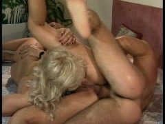 Lucky guy fucks two housewives