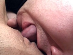Cute German lady has fun with toys and takes a facial
