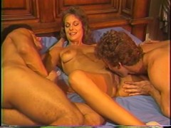 Classic blonde in steamy threesome - Golden Age Media