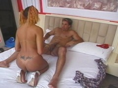 Coming home to a horny Tgirl - Pau Brasil