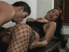 Sexy time with a Latina tranny - Macho Man Video