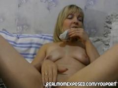 Wife wears panties inside her cooch