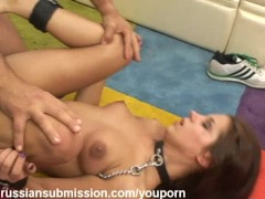 A Sizzling Whore Gets Her Ass Flogged And Drilled By A Meaty Dick