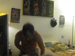 CRAZY GUY CAN SUCK HIS OWN COCK