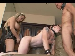 Bisexual Husband and Wife with a Male Slave
