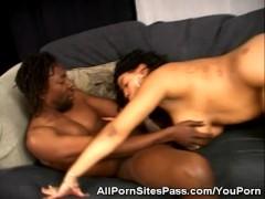 Cock Sucking Ebony Preggio