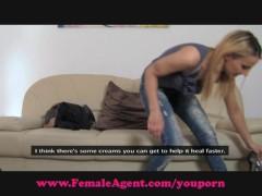FemaleAgent. Steamy casting