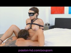Passion-HD Masked Beauty Fucked In Wet Pussy