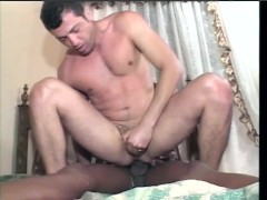 Tranny stuffs him with her BBC - Dane