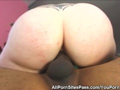 Black Wang Fucks A Blonde Hottie