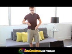 GayCastings Lucas Turns On The Director For Some Action In His...
