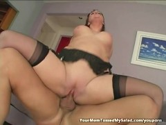Hot Mom Julie loves licking ass hole!