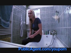 Publicagent Fit Young Babe Needs A Plumber