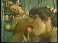 Classic vintage librarian fuck  - Porn Star Legend