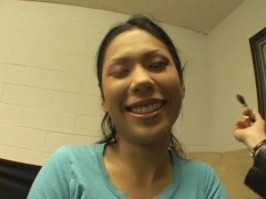 Behind the scenes with beautiful asians - Combat Zone