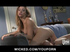 Kinky brunette wife Chanel Preston tries to spice up her sex life