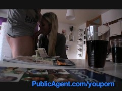Publicagent English Tutor Sucks And Fucks My Big Dick