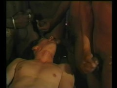 White Boy In Big Black Gang Bang - Julia Reaves