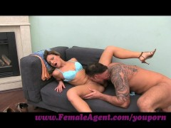 FemaleAgent. New agents incredible cock riding skills