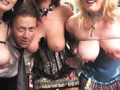 Amia Miley and Marie McCray Give Great POV Blowjobs