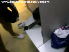 Boy Cuming In Change Room