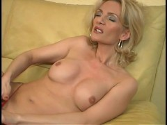 Gorgeous milf gets a hard fuck on the couch - Critical X