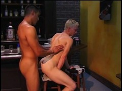 Young blond twink takes a huge cock in the ass - Inferno