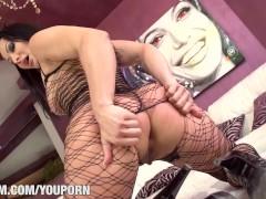 Hot Pornstar Sandra Romain at Saboom