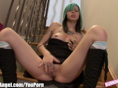 Burning Angel Emo Babe Krysta Kaos Solo Masturbation