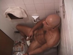 Bald Guy Stroking His Cock - XP Videos