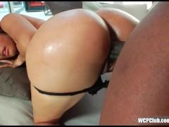 Big booty talking ebony slut