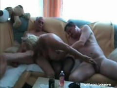 Ex Wife caught having sex on a threesome
