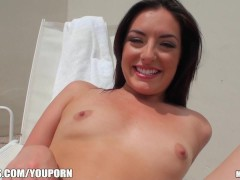 Sexy GF has her first time anal fucking filmed on camera