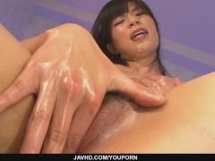Saki Aoyama in mamasans the asian milf movie