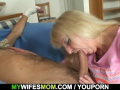 Son in law fucks her after couple of ...