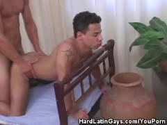 Cum Smearing Latino Hunks Like It Doggy Style