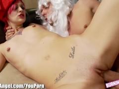 Exclusive: Burningangel Kleio Is Santas Ho Ho Ho