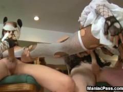 Pony training and wild orgy