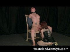 Intense Lesbian Bondage From Wasteland BDSM Movies