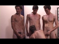 All-boys bukakke party - Pumphouse Media