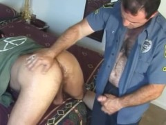Hot Bear and Police Officer