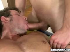 Massage His Colon With Big Hard Dick